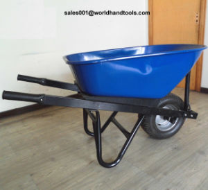 Heavy Duty Wheelbarrow with Wide Muddy Wheel pictures & photos