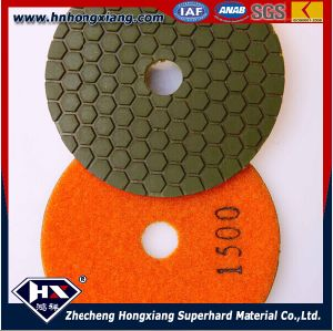 """4"""" Resin Diamond Polishing Pad Dry for Stone pictures & photos"""
