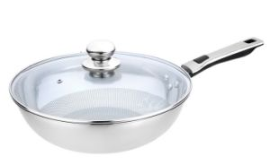 Non-Stick Stainless Steel Wok Cookware (QW-KS678-1) pictures & photos