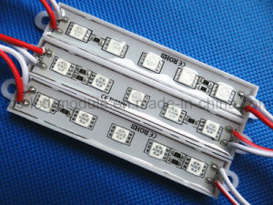 5050 5LED Waterproof Module DC12V Red Light pictures & photos