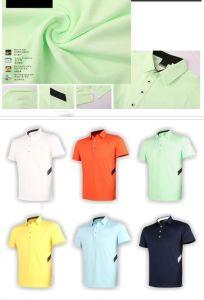 Short Sleeve Summer Men′s Golf T Shirt pictures & photos