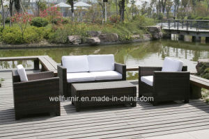 Kd Rattan Sofa, Wicker Sofa Set, Rattan Outdoor Furniture, Wicker Patio Furniture pictures & photos