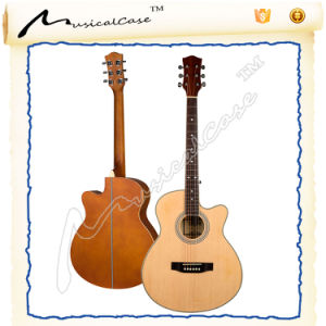 China Manufacturer 40′ Sprucewood Travel Guitar pictures & photos