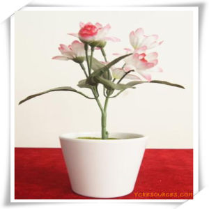 PU Silk Rose Simulation Flowers Plant for Decoration pictures & photos