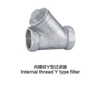 Stainless Steel Internal Thread Y- Type Filter pictures & photos