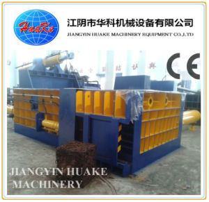 Hydraulic Automatic Scrap Steel Press Baler pictures & photos