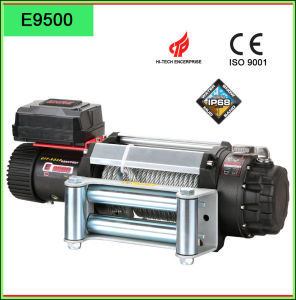 Zhme Electric Wire Rope Winch with 4-Way Roller Fairlead pictures & photos