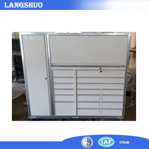 Us General Mobile Two Parts Cabinet Workshop Metal Tool Chest pictures & photos