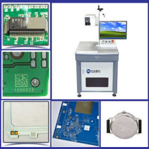UV Laser Marking Machine for ABS Logo Engraving pictures & photos