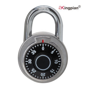 Stainless Steel Round Dial Combination Lock pictures & photos