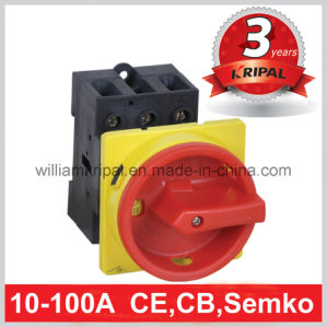 32A 4p Rear Mounted Rotary Switch pictures & photos