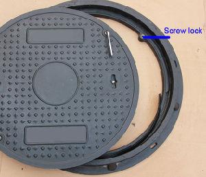 Composite SMC Lockable Manhole Cover with En124 Standard pictures & photos