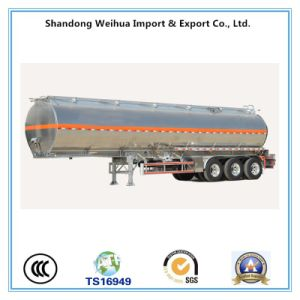 Popular 40cbm Oil / Fuel Tanker Trailer with 3 Axles pictures & photos