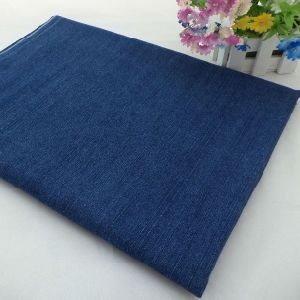 Stock Denim Fabric Cotton Yarn Dyed Indigo for Dress and Shirt pictures & photos