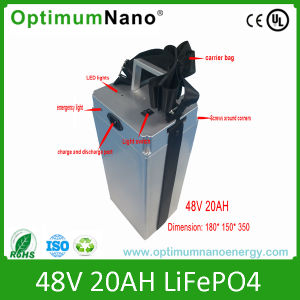 Rechargeable 48V 20ah LiFePO4 Battery Packs pictures & photos