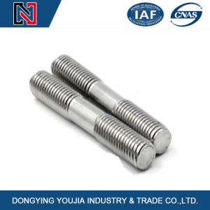 DIN939 Double Ended Ss Bolt Studs by China Bolt Manufacturer pictures & photos