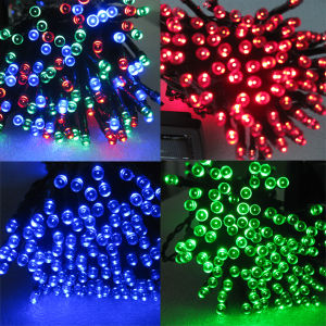 Christmas Party Garden Decoration 100LED 200LED 300LED 400LED 500LED Solar LED Christmas String Light pictures & photos