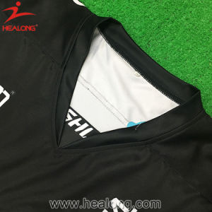 Healong Sublimation Sportswear Digital Printing Custom Hockey Jerseys pictures & photos