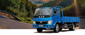 Waw Flatbed Cargo Light Truck D1-Series 4*2