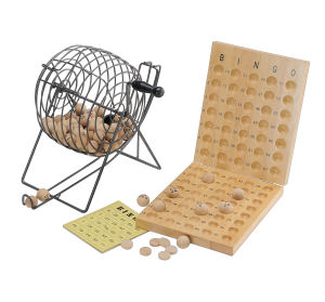 Wooden Lottery Game with Roller Box (CB2052) pictures & photos