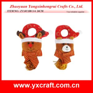 Christmas Decoration (ZY14Y108-3-4 24CM) Christmas Door Hanging Garland pictures & photos