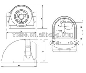 Auto Camera for Agricultural Machinery Tractor pictures & photos