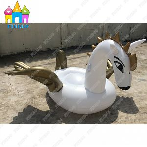 Water Park Inflatable Air Pegasus Golden Swan Flamingos Pool Floats pictures & photos