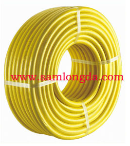 3 Layer Yellow Garden Water Hose with SGS Standards pictures & photos