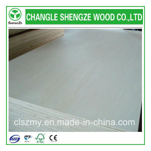 Whole Sale 2.1-21mm Bleached Poplar Plywood pictures & photos