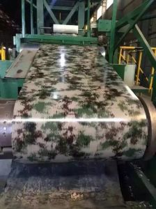 PPGI Steel Coil Steel Sheet Wood Print Factory