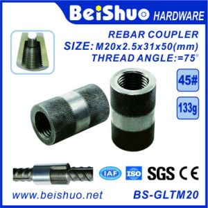M20-50mm Mechanical Rebar Coupler Connection pictures & photos