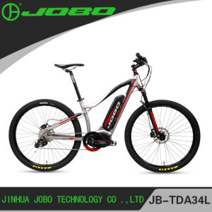 """Jobo Dual Suspension MTB Aluminum Alloy Frame 27.5"""" 500W Electric Bike for Men with Bafang Middle Motor pictures & photos"""