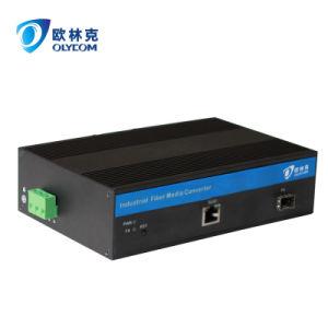 Gigabit Ethernet Industrial Fiber Media Converter with Poe (IM-PC111GE) pictures & photos