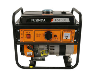 Home Use 1kw Small Portable Petrol / Gasoline Power Generator Fs1500 pictures & photos