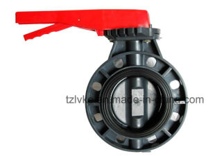 PVC Butterfly Valve (ANSI, DIN, JIS, BS, CNS) pictures & photos