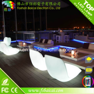 General Use Outdoor LED Furniture Modern LED Chairs with RGB Lights