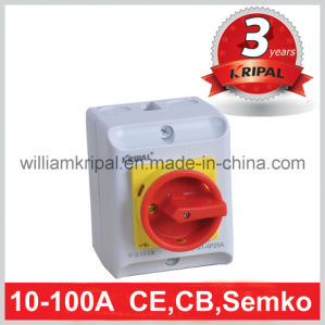 IP65 PC Enclosed Rotary Switch pictures & photos
