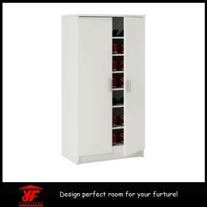 Space Saving Corner Large Wooden Sliding Door Closet Cabinet Shoe Rack