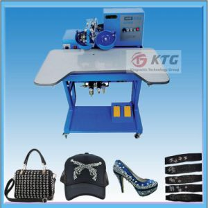 2016 New Hot Fix Rhinestone Heat Transfer Machine pictures & photos