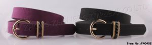2016 New Fashion Women PU/Leather Belt (F4040E) pictures & photos