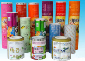 Laminated Color Printing Instant Noodles Packaging Roll Film