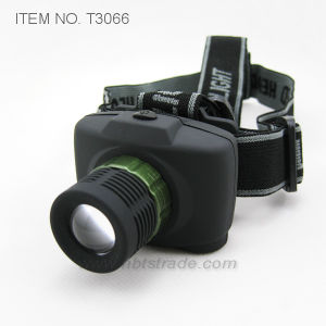 Power Zoom Headlamp (T3066) pictures & photos