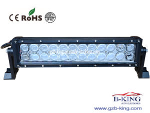 72W Offroad LED Light Bar with 4D Reflector pictures & photos
