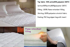 Flame-Retardant Filled Mattress Protector pictures & photos