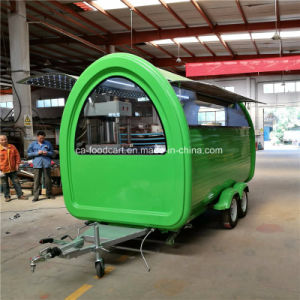 3.5m Double Axle Catering Trailer, Food Trailer, Food Cart pictures & photos