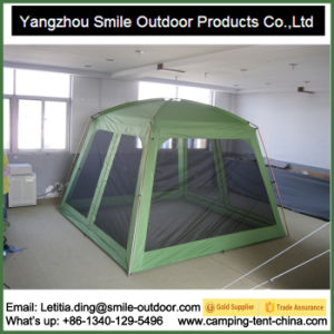 Best Quality Mosquito Windows Culture Dressing Square Camping Tent pictures & photos