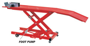 800lbs Quality Hydraulic Motorcycle Lift pictures & photos