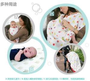 Baby Soft Hand-Double Face Animal Baby Blanket Cover Hat Flannel Knit Edge pictures & photos