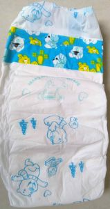 T Shape Baby Diaper (PE Backsheet and PP Tape)