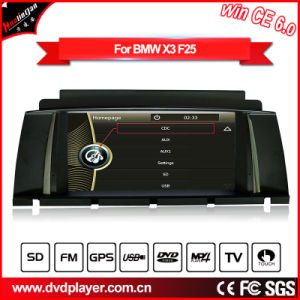 Windows Ce GPS Navigation Car DVD Player for BMW X3 F25 with Video Hualingan pictures & photos